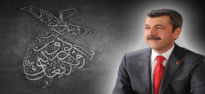 Beypazarı Belediye Başkanı Tuncer Kaplan Şeb-i Arus'un 741.yıldönümüne ilişkin bir mesaj yayınladı