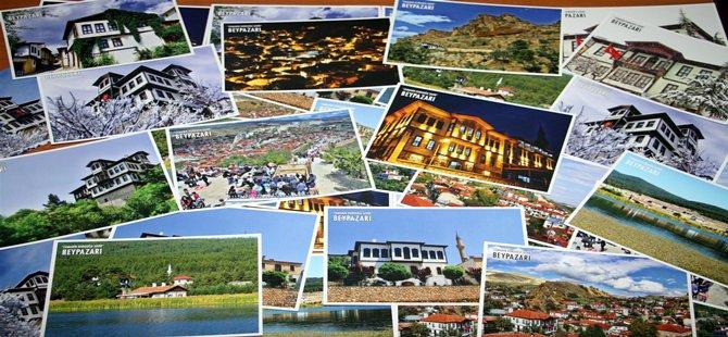 Beypazarı'nın Tarihi Dokusunu ve Güzelliklerini anlatan Kartpostallar büyük beğeni topladı.