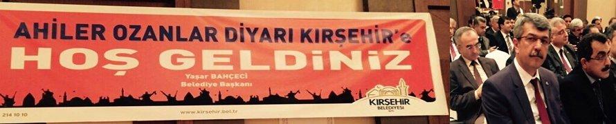 Başkan Kaplan Kırşehir'de