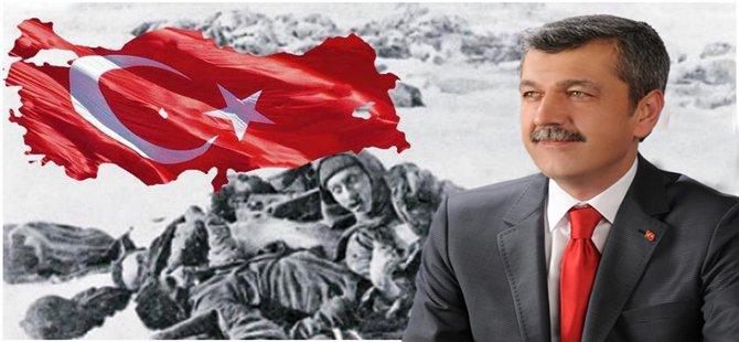Beypazarı Belediye Başkanı Tuncer Kaplan Sarıkamış ŞEHİT'lerini Andı