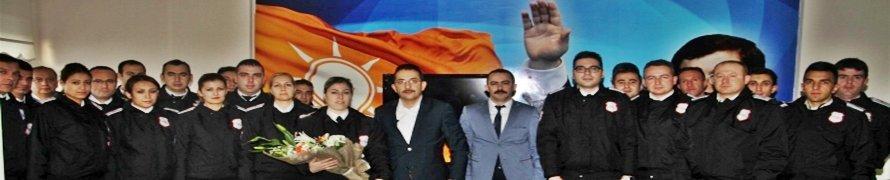 Beypazarı Belediyesi bünyesinde yeni göreve başlayan Güvenlik görevlileri