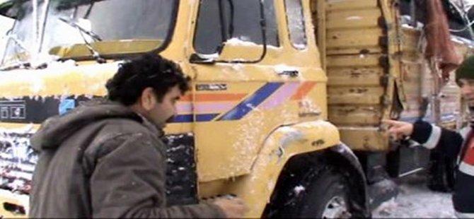 Mudurnu-Akyazı Karayolu Trafiğe Kapandı
