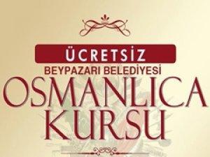 Beypazarı Belediyesi Osmanlıca Kursu Düzenliyor