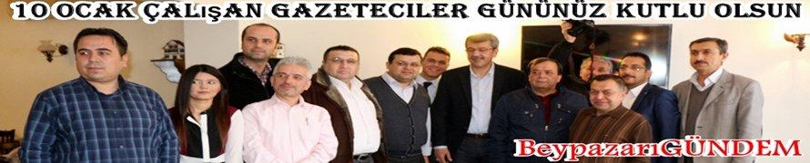 BeypazarıGÜNDEM Medya Grub yönetimi olarak tüm meslektaşlarımızın 10 Ocak çalışan gazeteciler günü Kutlu Olsun