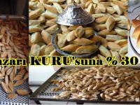 Beypazarı '' KURU ''suna % 30 ZAM Yapıldı