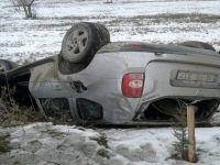 Beypazarı; Başağaç Mahallesinde Araç Takla Attı 1 Yaralı