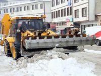 Beypazarı Belediyesi 15 Araçla Kar Mücadelesine Hazır