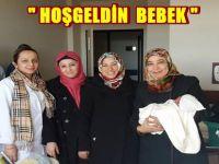 """Beypazarı Belediyesi, İlçedeki Yeni Doğan Bebek ve Aileleri İçin """"Hoş Geldin Bebek"""" Adlı Projeyi Hayata Geçirdi."""