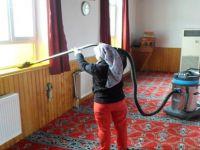 Beypazarı Belediyesi Kültür ve Sosyal İşler Müdürlüğü Ekipleri Camiileri temizliyor