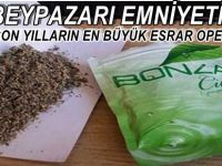 Beypazarı Emniyetinden Son Yılların En Büyük Uyuşturucu  Operasyonu 8 Kişi Gözaltına Alındı