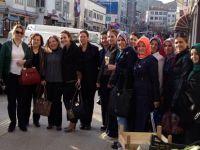 Ak Parti Beypazarı Kadın Kolları ARI Gibi Çalışıyor