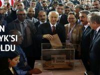 MHP Kurultayın da yönetimin yüzde 60'ı değişti