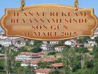 İLAN VE REKLAM BEYANNAMESİNDE SON GÜN 31 MART