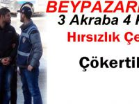 Beypazarı'nda Yakalanan Hırsızlık Çetesinin Hepsi Tutuklandı