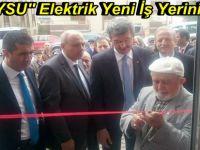 BEYSU Elektrik Yeni İş Yerinin Açılışını Yaptı