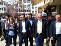 Ak Parti Beypazarı İlçe Teşkilatı M.Vekilleri Aday Adaylarını Halkla Buluşturuyo