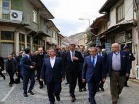 Beypazarı; Ulaştırma Denizcilik ve Haberleşme Bakanı Feridun Bilgin ve Milli Savunma Bakanı İsmet Yılmaz'ı Ağırladı