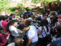 Ankara'nın tarihî ilçesi Beypazarı'nda Hıdrellez kutlamaları devam ediyor.