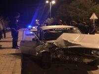 Beypazarı Alparslan Türkeş Bulvarında Trafik Kazası 1 Yaralı