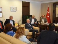 Ak Parti Milletvekil Adayı Nevzat Ceylan BTO Ziyaret Etti