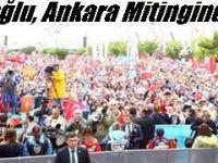 Başbakan Davutoğlu, Ankara Mitinginde Konuştu