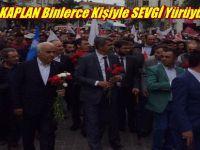 AK Parti Beypazarı Teşkilatları, Başkan KAPLAN ve Binlerce Kişi SEVGİ Yürüyüşü Yaptı