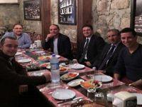 Başakşehir-Fenerbahçe Maçının Hakemi Ali PALABIYIK Beypazarı'ndaydı