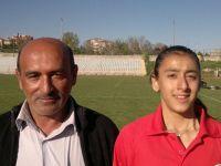 Beypazarılı Mizgin AY İlk defa yarıştığı 400 mt yarışmasında 58.64 saniye ile Türkiye birincisi oldu