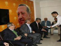 Beypazarı Ak Parti  ilçe başkanlığında  bayramlaşma sürüyor.