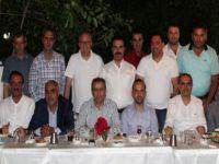 Beypazarılı iş adamları ve Esnafları Kaymakam Mustafa Kaya'ya veda yemeği verdi.