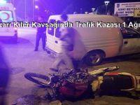 Beypazarı Kiler Kavşağında Trafik Kazası 1 Ağır 3 Yarali