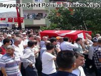 Güdül ve Beypazarı Şehit Polisini Binlerce Kişiyle Uğurladı