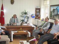 BTO Yönetim Kurulu Üyelerinden Beypazarı Kaymakamı Suat SEYİTOĞLU'na hayırlı olsun ziyareti.