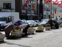 Beypazarı'nda Çiçekler Sokaklarla Buluşuyor