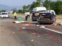 Takla Atan Otomobilde Can Pazarı: 1 Ölü 3 Yaralı