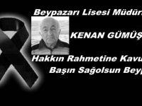 Beypazarı Lisesi Müdürlerinden Kenan GÜMÜŞ Hocamızı Kaybettik