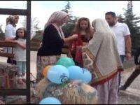 """Beypazarı'nda Gelin Adayına """"Süslü Koç Gönderme Geleneği"""""""
