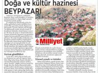 MİLLİYET BEYPAZARI'NI TAVSİYE ETTİ