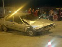 Beypazarı Kiler Kavşağında Yine Trafik Kazası 1 Yaralı