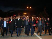 Beypazarı'nda Fener Alayı ve Cumhuriyet Yürüyüşü Muhteşemdi