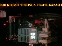 Beypazarı Kırbaşı Yolunda Trafik Kazası 1 Yaralı