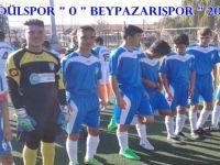 BEYPAZARISPOR'dan GOL YAĞMURU  RAKİBİ GÜDÜLSPORU  20 - 0  YENDİ