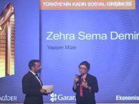"""""""Türkiye'nin Kadın Sosyal Girişimcisi"""" Ödülü Beypazarı'lı Zehra Sema Demir'in"""