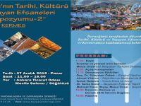 Beypazarı'nın Tarihi Kültürü ve Yaşayan Efsaneleri Sempozyumu-2- KERMES'imize Tüm Hemşehrilerimiz Davetlidir