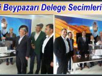 Ak Parti Beypazarı İlçe Teşkilatı Delege Seçimlerini Bitirdi