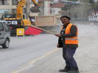 Beypazarı'nda Bahar'la Birlikte Hizmet Seferberliği Kaldığı Yerden Devam Ediyor