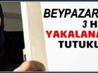 Beypazarı'nda İşyerlerini Soyduğu Belirlenen 3 Zanlı Yakalandı