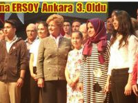"""Beypazarı Namık Kemal Ortaokulu Öğrencisi Aleyna ERSOY Ankara 3.Oldu """"Annem İçin Yazıyorum"""""""