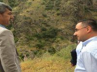 Başkan KAPLAN, DSİ'den Gelen Heyet İle Beypazarı URUŞ Dereli'deki Baraj Yerini İncelediler