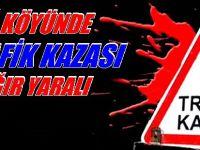 BEYPAZARI ÇAĞ KÖYÜ YOLUNDA TRAFİK KAZASI 3.AĞIR YARALI